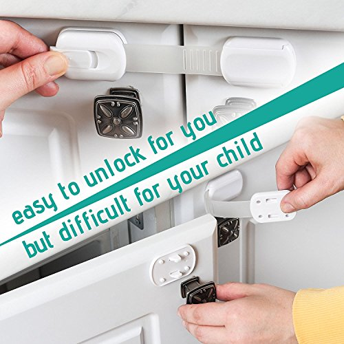 Baby Proof Cabinets,6 Pack