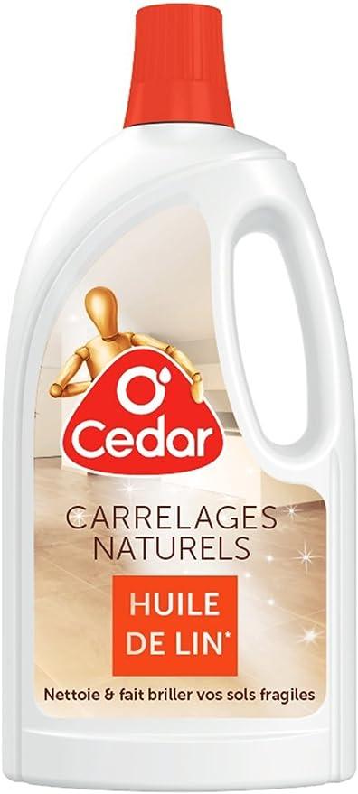 O Cedar Nettoyant Carrelage A L Huile De Lin 1 L Lot De 4 Amazon Fr Hygiasne Et Soins Du Corps
