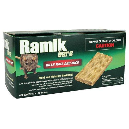 Ramik Green Rodenticide - (4 ct -16 oz bars)