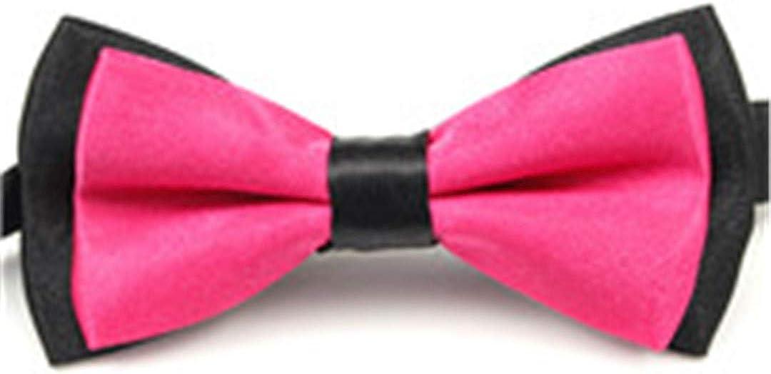 New Satin For Mens Pre Tied Wedding Party Fancy Plain Necktie Tie Bow Ties Boy