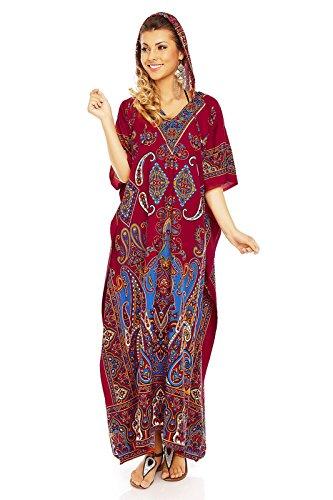 Looking Glam - Bata - para mujer rojo (Maroon)