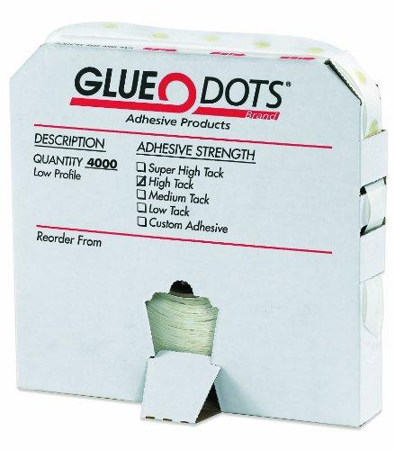 low profile glue dots - 9
