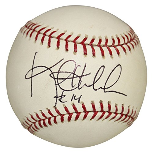 Kent Hrbek Minnesota Twins Autographed Signed Rawlings Official Major League Baseball - Certified Authentic
