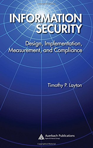 Information Security Design Implementation Measurement and Compliance