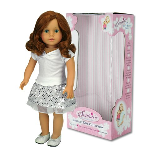 18 Inch Doll Carly, Made by Sophia's, 18
