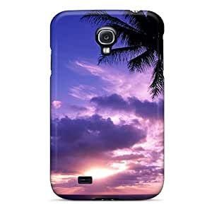 New Dhs6156NvIg Tahitian Paradise Tpu Cover Case For Galaxy S4