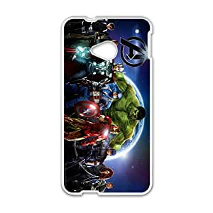 Anime AVENGERS AGE ULTRON superhero Phone Case for HTC ONE M7