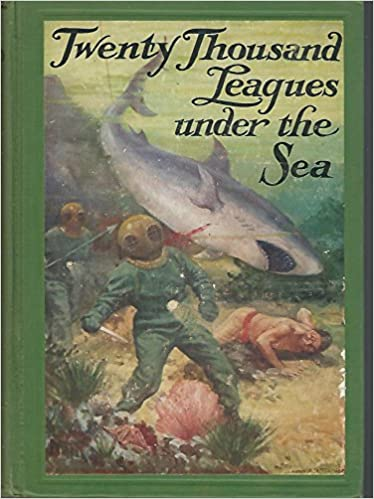 Twenty Thousand Leagues Under The Sea Winston Bookshelf Jules Verne Amazon Books