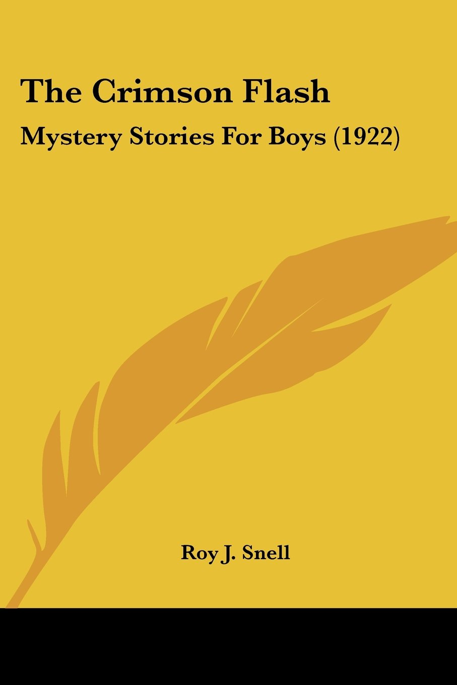 The Crimson Flash: Mystery Stories For Boys (1922) pdf