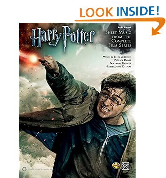 Harry Potter Piano Book: Amazon.com