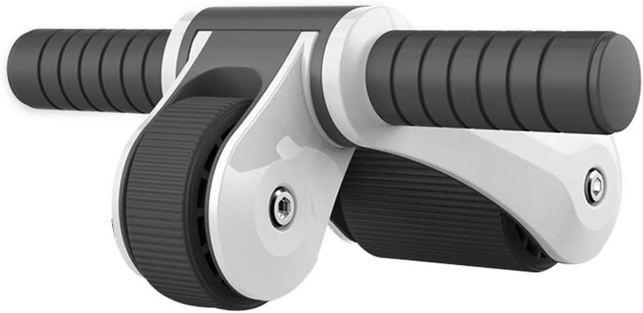 Rueda abdominal plegable para hombres abdominales y ejercicios abdominales rueda de desplazamiento portátil para uso doméstico abdominal, para uso doméstico abdominal, 33,5 x 14 x 20 cm, XMJ