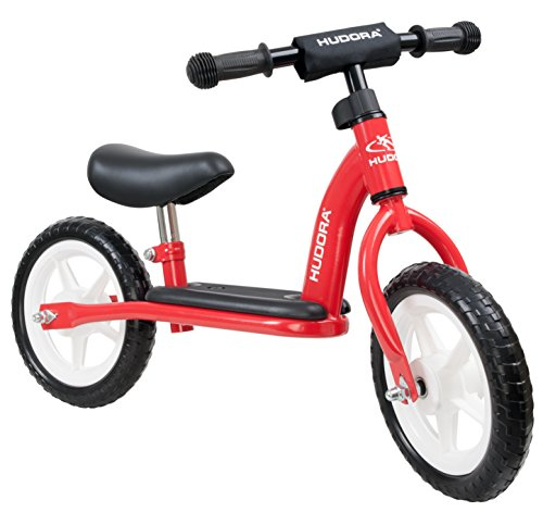 HUDORA Laufrad Toddler für die Kleinsten 10 Zoll rot