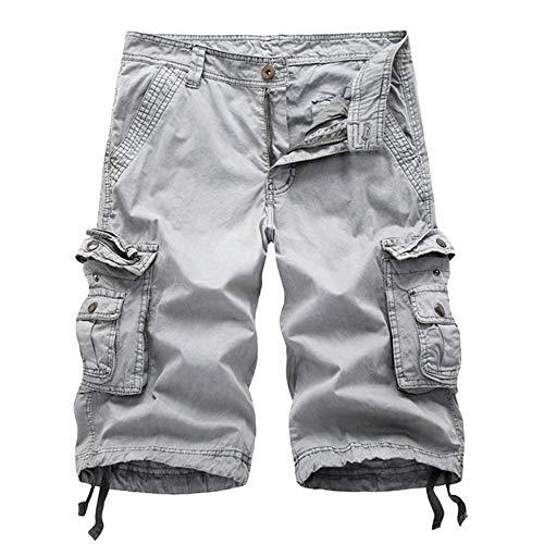 Corti Pantaloncini Fit Bianca Cotone In Tasche Cargo Chino Slim Uomo Estivi Festivo Lannister Pantaloni Camo Abbigliamento Multi Da x74nSqS