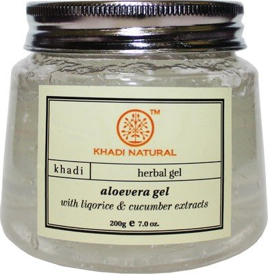 Khadi Natural Aloevera Gel, 200g (Transparent)