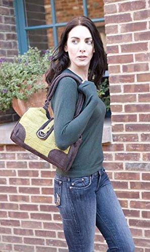 Earth-Divas-MH-135-GNB-Green-Brown-Hemp-Double-Ring-Stylish-Handbag
