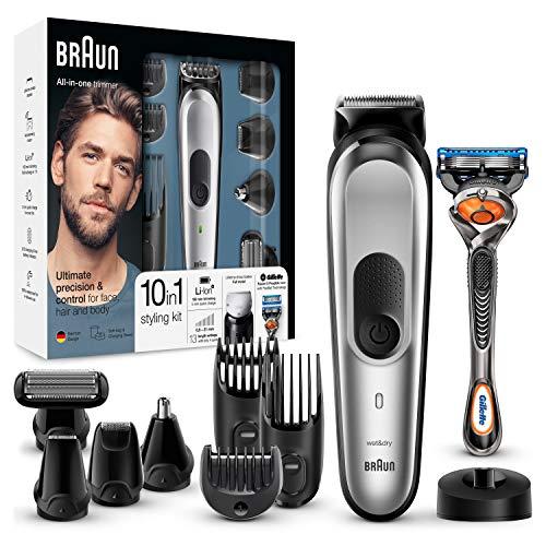 Comprar Braun MGK7020 10 en 1 Máquina recortadora barba y cortapelos - Tienda Online con Envíos Baratos o Gratis