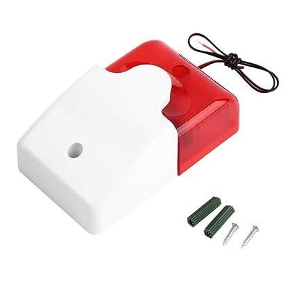 1sets Mini Wired la Sirena del estroboscópico Duradero ...