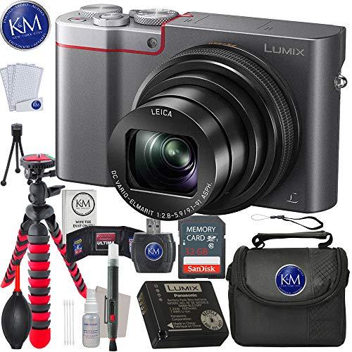 Panasonic Lumix DMC-ZS100 Digital Camera + 32GB Memory + Essential Photo Bundle(s) (Silver) For Sale