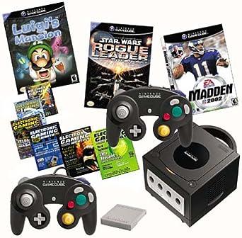 Amazon.com: Nintendo GameCube Console - Jet Black with 3 ...