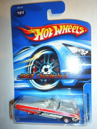 2006 - 1963 Thunderbird Hot Wheels Collectible - 181