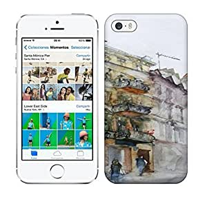 Best Power(Tm) HD Colorful Painted Watercolor Quite City And People Hard For LG G3 Phone Case Cover