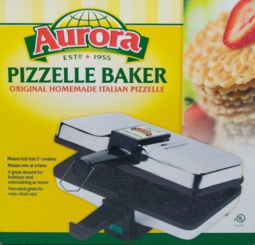 Aurora Non Stick Pizzelle Baker NEW by aurora