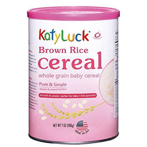 infant brown rice cereal - 5