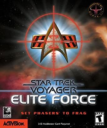 Elite Forces Game Box art from Amazon.com, serving as reference for RetroTrek