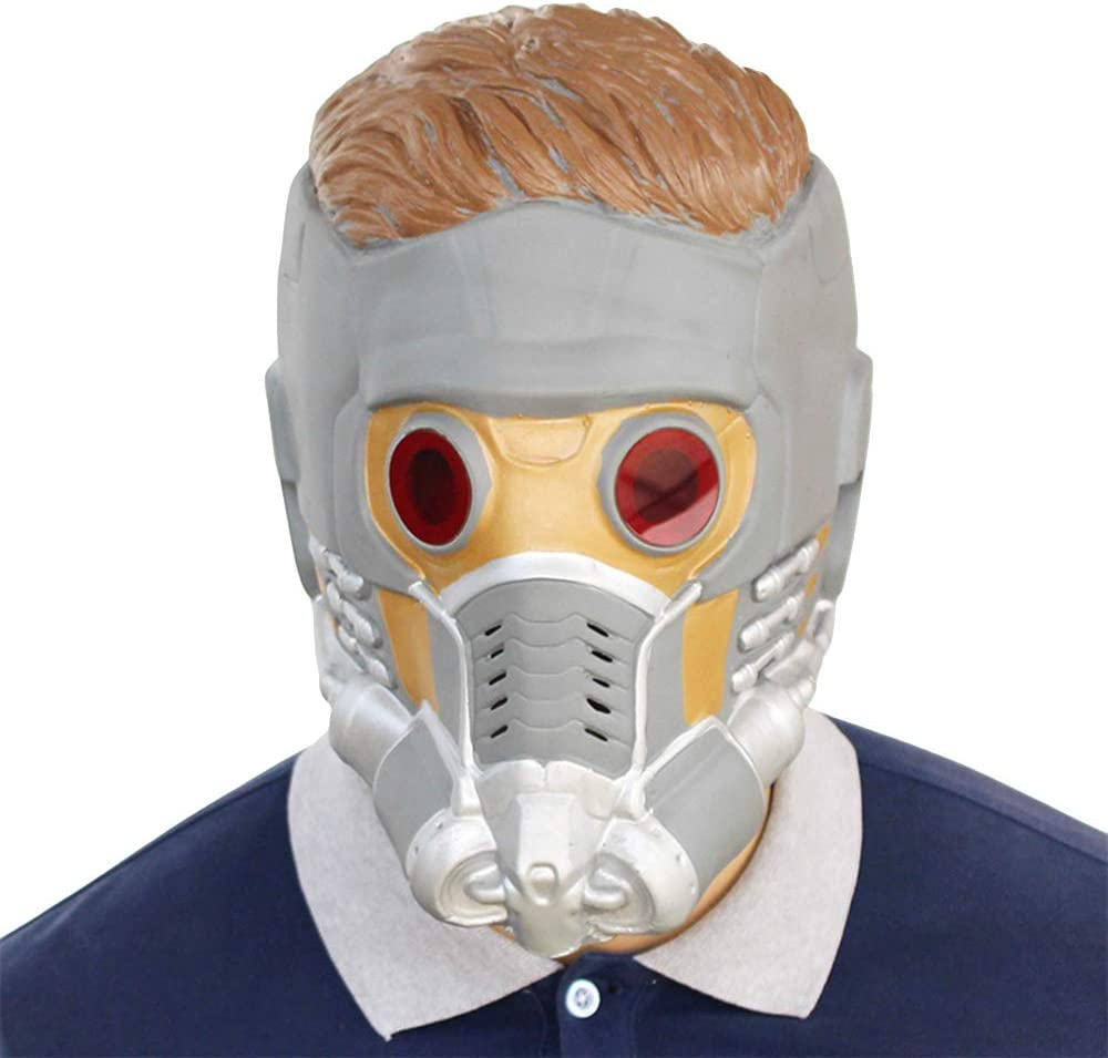 Hope Guardianes de la Galaxia: Máscara de Star-Lord Latex Casco de ...
