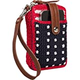 The Sak Betty Sue Smartphone Wristlet (American Flag), Bags Central