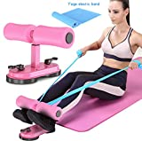Sunsign Adjustable Self-Suction Sit Up Bars Multi-function Abdominal Muscle Exercise Machine For Home Gym