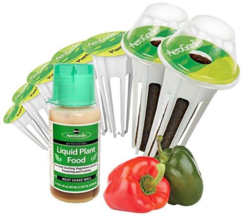 AeroGarden Sweet Bell Peppers Seed Pod Kit (7-Pod)