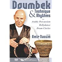 Técnica y ritmos de Doumbek para percusión árabe, con Amir Naoum: instrucción de Doumbek a nivel de principiante, instrucciones de Doumbek, Play Doumbek para danza del vientre