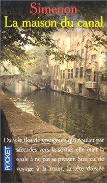 La Maison du canal par Simenon