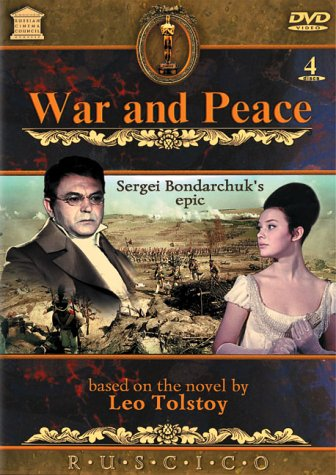 War and Peace [Subtitled] [4 Discs] Lyudmila Saveleva Vyacheslav Tikhonov Sergey Bondarchuk Boris Zakhava