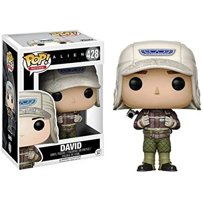 Funko Pop Movies: Alien: Covenant - David (Rugged Gear) Toy Figure: Funko Pop! Movies:: Toys & Games