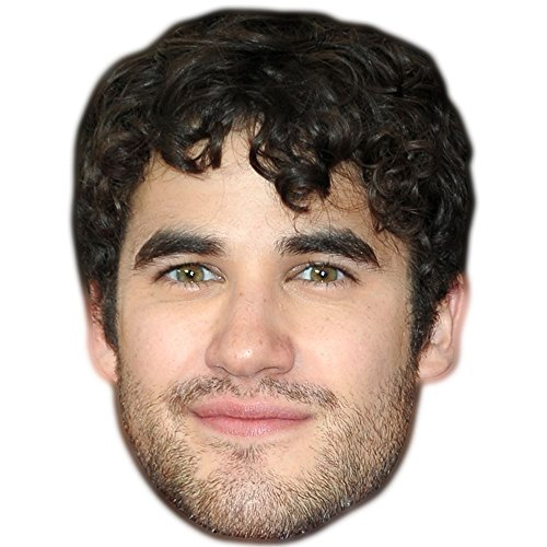 Darren Criss Mask, Cardboard Face and Fancy Dress Mask by Celebrity - Home Darren Criss