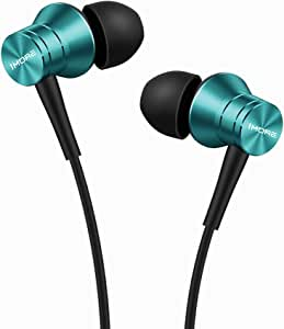 1MORE Piston Fit in-Ear Earphones Fashion Durable Headphones with 4 Color Options, Noise Isolation, Pure Sound, Phone Control with Mic for Smartphones/PC/Tablet - Blue