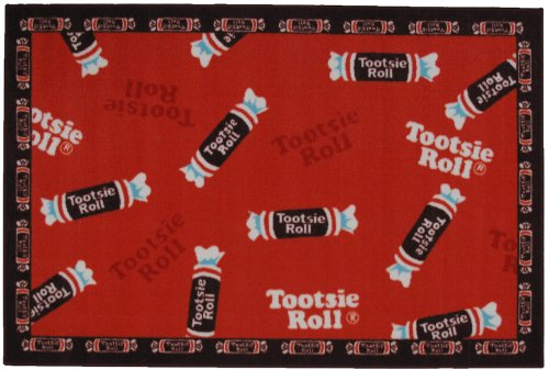 Tootsie Roll Candy Rug - 19x29