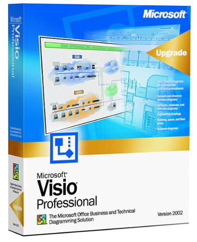 Microsoft Visio Professional 2002 Upgrade from 5.0 or Later [Old Version]