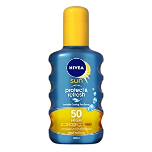 Nivea Sun Protect and Refresh Invisible Cooling Spray 200ml