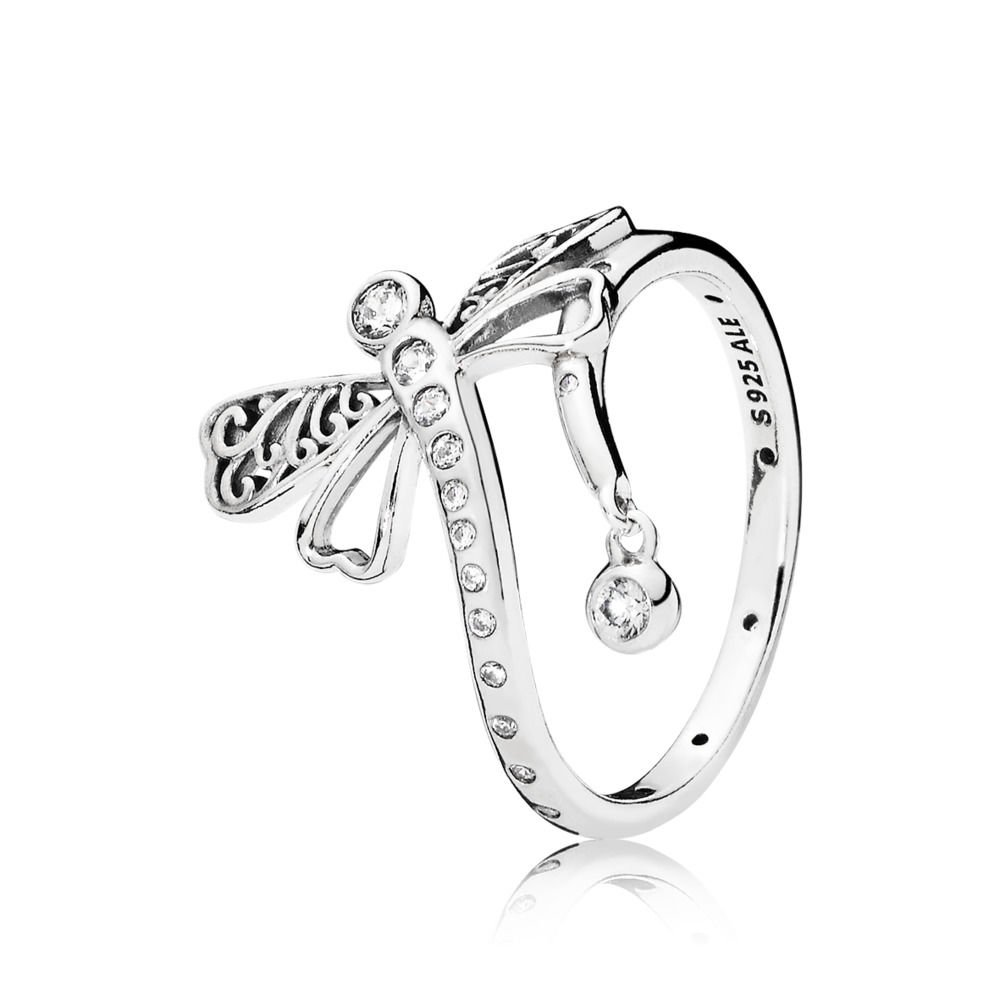 ca05d0d7c Pandora Women Silver Ring - 197093CZ-60: Amazon.co.uk: Jewellery