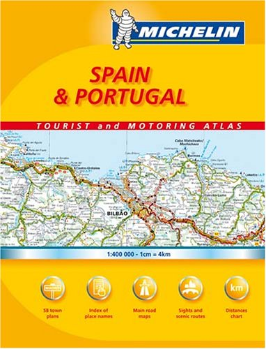 Michelin Map Spain Southern Andalucia  578 MapsRegional Michelin