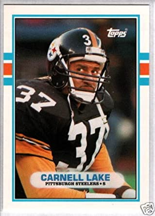 2e81a7ff15a Amazon.com  CARNELL LAKE 1989 Topps Traded RC  80  Collectibles   Fine Art