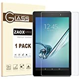 "All-New Fire HD 10 Screen Protector, ZAOX Tempered Glass Screen Protector Film for Amazon Kindle Fire HD 10 Tablet with 10.1"" 1080p [9H Hardness] [Crystal Clear] [Bubble Free] (1 PACK)"