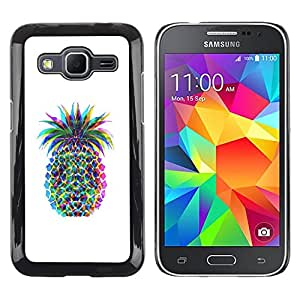 Exotic-Star ( Colorful Art Drawing Food ) Fundas Cover Cubre Hard Case Cover para Samsung Galaxy Core Prime / SM-G360