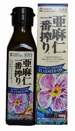 Safflower linseed Ichiban Shibori 100g