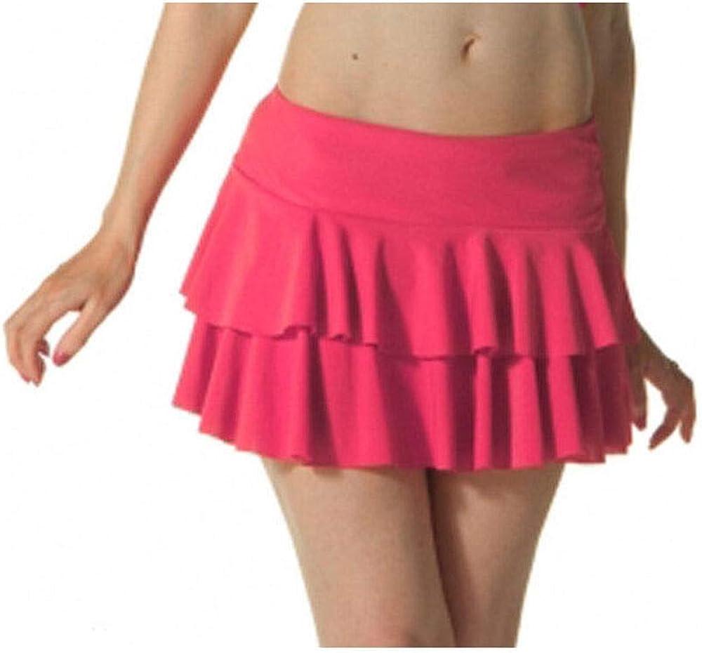Hi Fashionz Femmes Filles Fluo Rara Mini Jupe Courte Club de Danse F/ête D/éguisement Femme Tailles S-XL