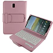 Cooper Cases(TM) CEO Keyboard Folio Case for Samsung Galaxy Tab S 8.4 T700/T705 in Pink (Magnetic Detachable...