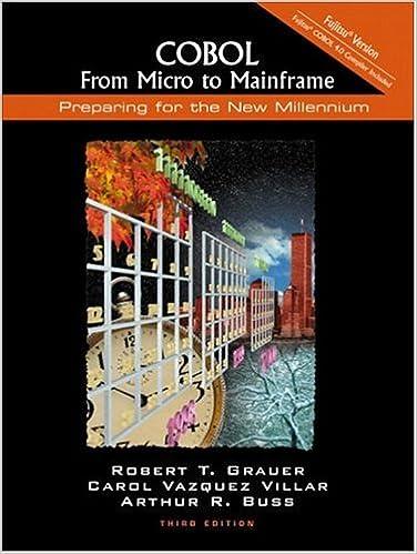 Fujitsu Version From Micro to Mainframe 3rd Edition COBOL